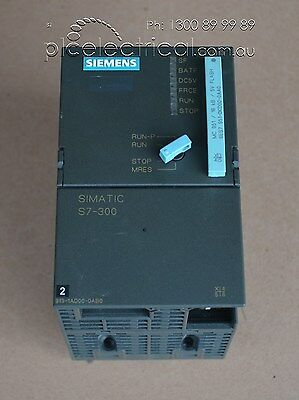 Siemens 6ES7 313-1AD00-0AB0 SIMATIC S7-300 CPU313 Controller with EPROM Module
