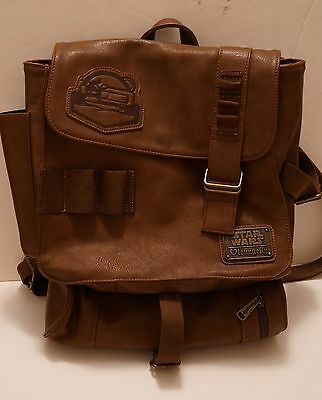 SDCC 2016 Star Wars The Force Awakens Rey Backpack Rey's Bag - Loungefly Disney