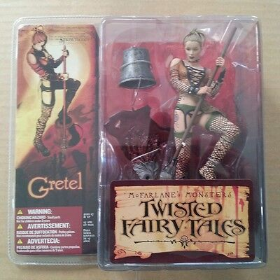 Mcfarlane Monsters 4 Twisted Fairy Tales Gretel Mint Sealed