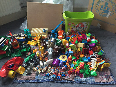 Lego Duplo bundle-Zoo, Penguin, Winnie the Pooh, Bob the Builder & a helicopter