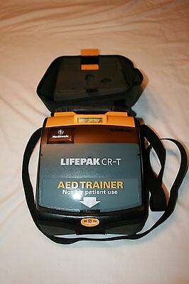 LIFEPAK CR-T AED CPR Defibrillator Trainer Medtronic (FREE SHIPPING)