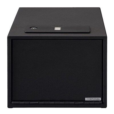 New Authentic Stack-On Quick Access Safe with Biometric Lock w/shelf QAS-1512-B