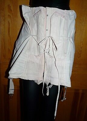Vintage P.N. Practical Front by Sarong Inc. Corset  Girdle ~ Garters, Laces