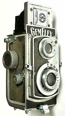 Rare 1949 Gemflex Subminiature Spy Camera ~ U.s. Occupied Japan ~ Showa Kogaku