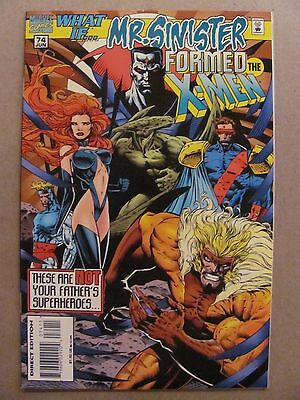 What if #74 Marvel 1989 Series Mr Sinister Formed The X-Men 9.4 Near Mint