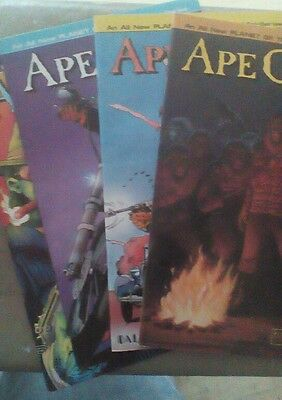 PLANET of the APES : APE CITY : COMPLETE 4 ISSUE SERIES 1990  NM