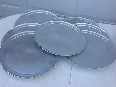 "Lot Of 10 Round 19"" Commercial Pizza Tray 19 Inch Aluminum Pizza Pan"