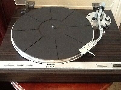 Yamaha YP/D4 Direct Drive Turntable With Owners Manual