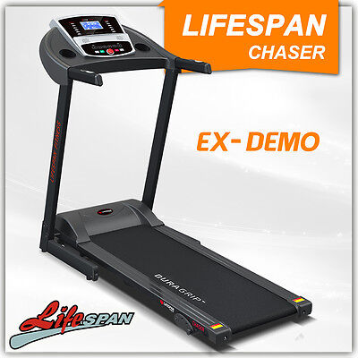 Lifespan Electric Gym Treadmill Demo CHASER