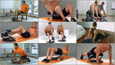 Flex Core 8 - SHOW ROOM MODELS - AS NEW - Fitness, Core, Home Workout, Tone Up
