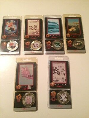 lot of 6 unopened new Disney Decade Coins