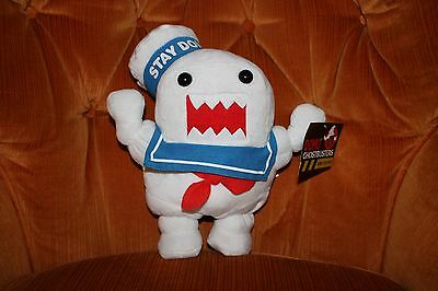 "GHOSTBUSTERS DOMO STAY PUFT MARSHMALLOW MAN  Plush 11"" Kellytoy"