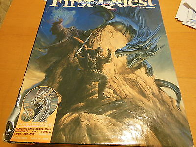 Introduction to Advanced Dungeons & Dragons 1995 FIRST QUEST GAME Heroquest AD&D