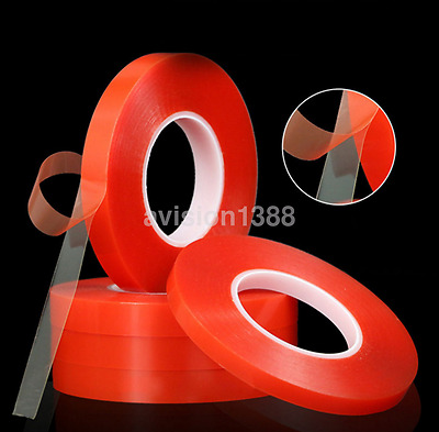 Adhesive Double Sided Tape Strong Sticky Tape Mobile Phone Repair 2-10mm New CA