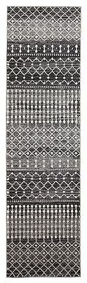 New Hallway Runner Rug Traditional Extra Long FREE DELIVERY Assorted Sizes Black