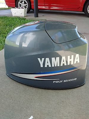 60Hp Yamaha 4 Stroke Outboard Hood Top Cowling P/n 6C6-42610-00-8D (Mid 2000S)
