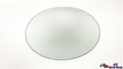Round Mirror Plate Candle Plate Wedding Cake Plate Wedding Table Display Plate