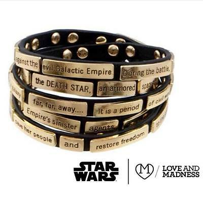 STAR WARS Love And Madness The Crawl Madness Wrap...A New Hope NEW!