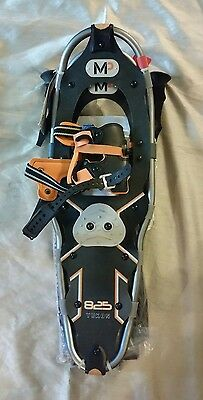 Yukon Charlie 825 snowshoes snowshoe kit, with poles.  New with tags!