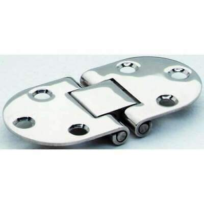FLUSH HINGE SS 3X1.5IN ROUND Attwood 66237-3