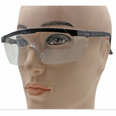 Safety Glasses Clear Lens Eye Protection DIY Construction Industrial Builder