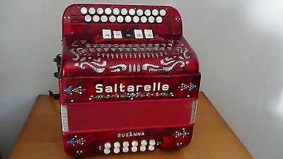 Accordeon Diatonique Saltarelle Suzanna