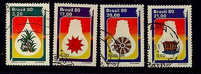 Brazil - 1980 Energy Conservation set FU