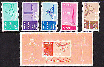 Brazil - 1960 Brasila as Capitol set