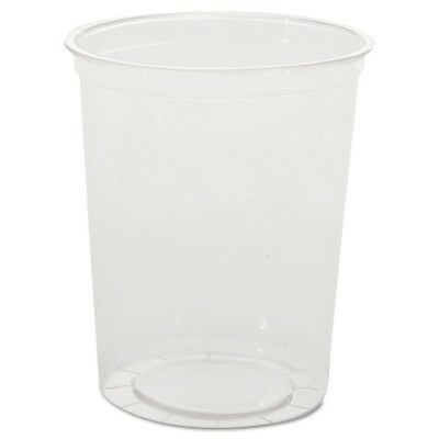 Deli Containers, Clear, 32oz, 50/Pack, 10 Pack/Carton - WNA APCTR32