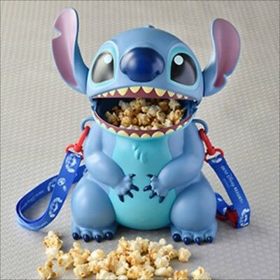 Disney Lilo and Stitch Tokyo Disneyland Resort Popcorn Bucket Container Case