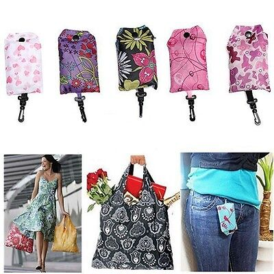 Hot Foldable Handy Shopping Bag Reusable Tote Pouch Recycle Storage Handbag