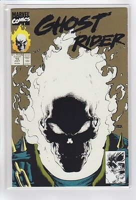 Ghost Rider Vol 2 15 (Marvel Comics 1991) VF+ Glow cover!!!!