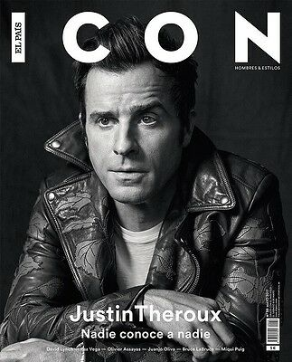 Last! Justin Theroux Icon Spain May 2017 David Lynch The Leftovers