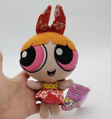 The Powerpuff Girls BLOSSOM Cartoon Network 1999 Plush Toy Gift 6""