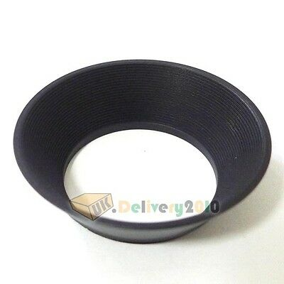 UK 37 mm 37mm Wide Angle Metal Lens Hood for Canon Nikon Olympus Panasonic Sony