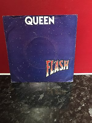 "Queen - Flash, 1980 7"" Vinyl Single. Emi5126."