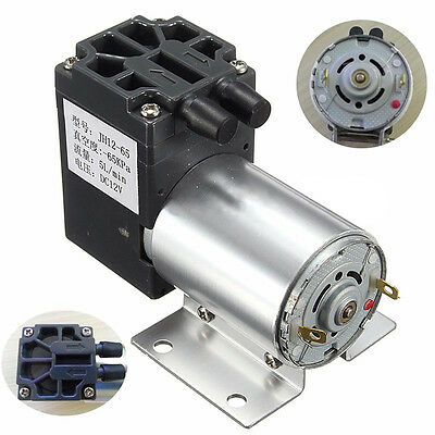 DC 12V 120kpa Mini Vacuum Pump Negative Pressure Air Suction Pump Booster 5L/min