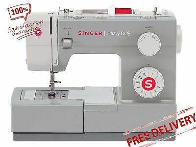 Singer Sewing Machine Heavy Duty Industrial Stitch Leather Portable NEW
