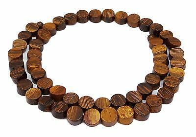 Laburnum wood Pearl Strand Coins 8 mm beautiful Wooden beads Natural beads