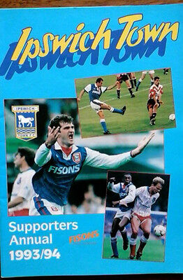 Ipswich Supporters Annual 1993/4