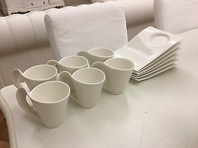 Villeroy and Boch New Wave Coffee Set for Six.