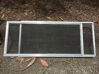 FLYSCREENS x 2, MOSQUITO SCREENS,ADJUSTABLE, SUIT WINDOWS, USED, DECEASED ESTATE