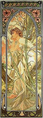 "Gobelin Tapestry Needlepoint Kit ""Mucha- Evening Contemplation"" 333"