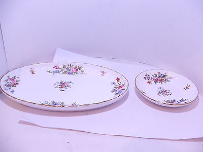 Minton Marlow oval and round pin tray  1st quality