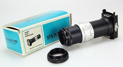 Panagor Zoom Slide Duplicator For 35mmm SLR Mount M42 and Minolta SR (Réf#M-082)