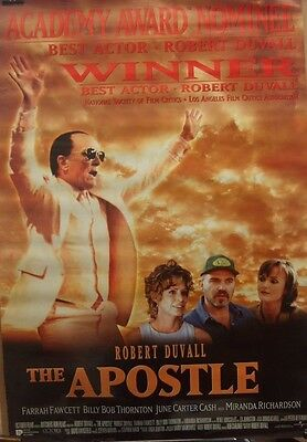 Robert Duval THE APOSTLE(1997)Original rolled US one sheet movie poster