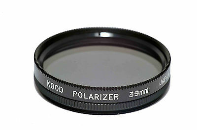 39mm High Quality Kood Linear Polarizing Filter Made in Japan Polarizer 39mm