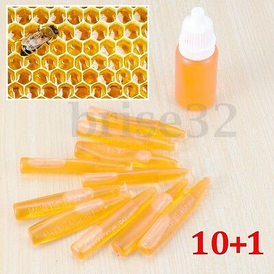 11pcs/Set Bee Swarm Attractant Lures Bait Trap Beekeeping Hive Honey Fruits Tool
