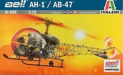 Italeri Bell AH-1 / AB-47 1:72 Model Kit