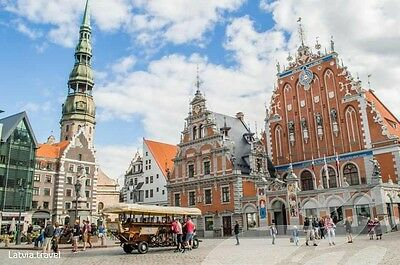 Doncaster to Riga flight 27th July